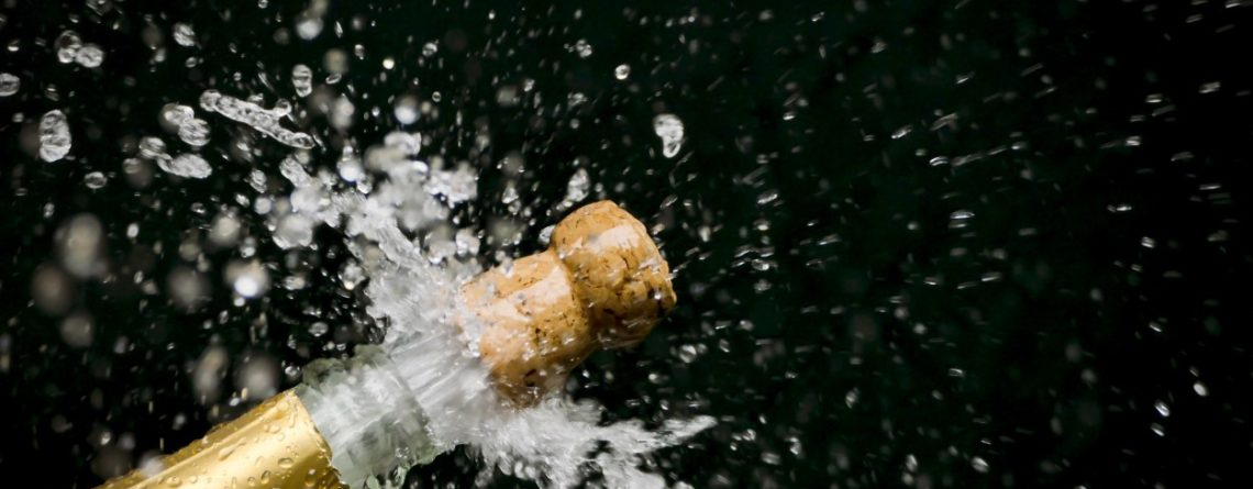 Careful of Flying Champagne Corks